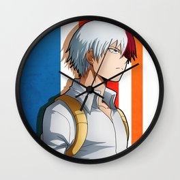 Todoroki Artwork Wall Clock