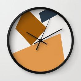 Abstract Geometric 24 Wall Clock