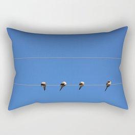 Four Doves Rectangular Pillow