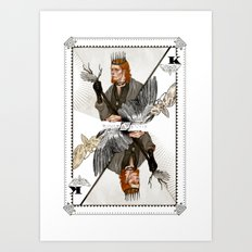 King of Wings Art Print