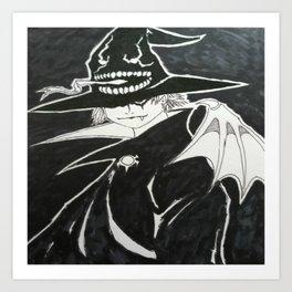 Demon Hat Art Print