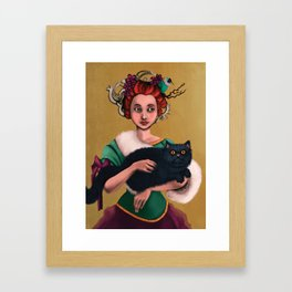 Lady decadence  Framed Art Print