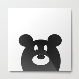 Oliver the Teddy Metal Print