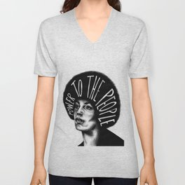 Power To The People Unisex V-Neck