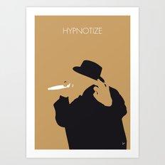 No080 MY Notorious BIG Minimal Music poster Art Print