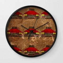 Christine Pattern Wall Clock