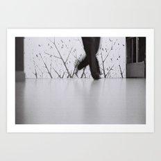 Zorba Dancer Art Print