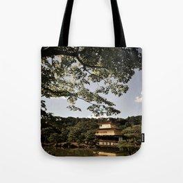 Kinkakuji/The Golden Pavilion, Kyoto Tote Bag