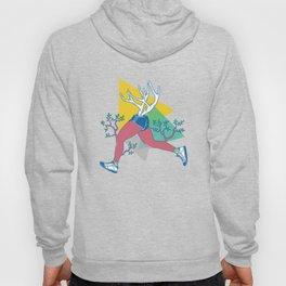 Run like a deer Hoody