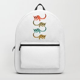 Sugar Glider Colorful Backpack