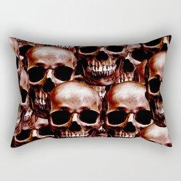 LG skull wall Rectangular Pillow