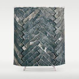 Brick Floors Shower Curtain