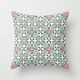Modern Baroque Throw Pillow