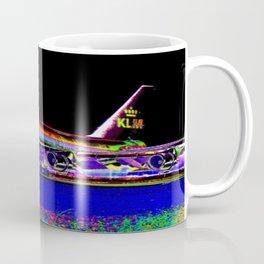 KLM Airlines Digital Art Coffee Mug