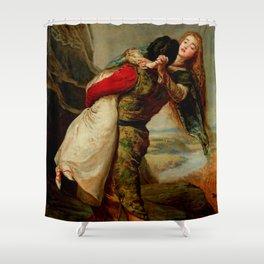 "John Everett Millais ""The Crown of Love"" Shower Curtain"