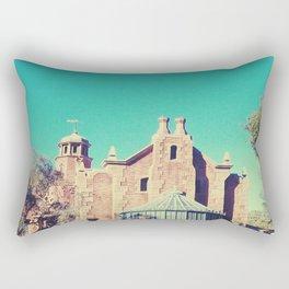 Mansion Architecture Closeup 1 Rectangular Pillow