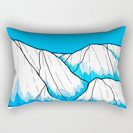 Glacier hills Rectangular Pillow