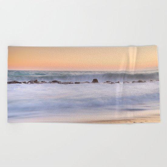 """The big wave..."" Beach Towel"