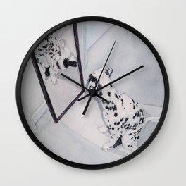 Roxie the Dalmatian 1 Wall Clock