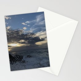 Sunset, Ocean, Wave, Maui Stationery Cards