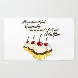 Inspirational Cupcakes Rug