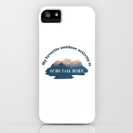 Great Outdoors iPhone Case