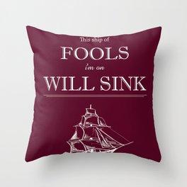 Millstone Throw Pillow