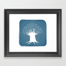 Olive Tree Framed Art Print