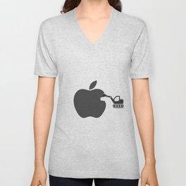 making of Apple Unisex V-Neck