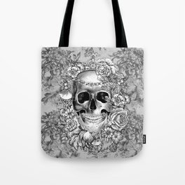 Natural Death BW Tote Bag