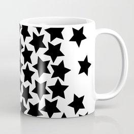 Lots of Black Stars Coffee Mug