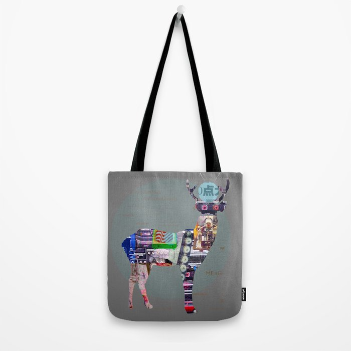 Deer Electric Tote Bag