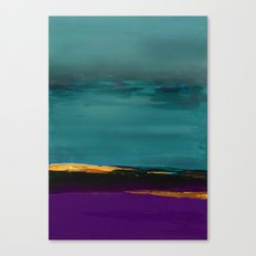 DUNES - Abstract landscape Canvas Print