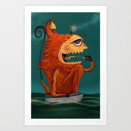 The Fire Spirit Art Print