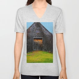 Ghost Barn Unisex V-Neck
