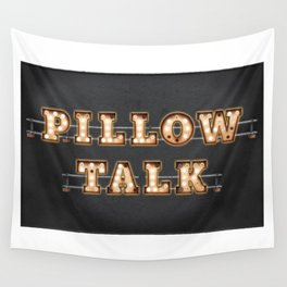 Pillow Talk Wall Tapestry