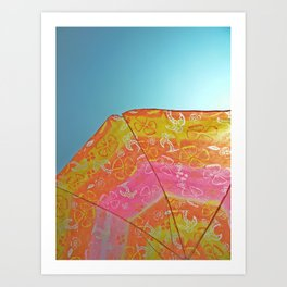 Sunny Umbrella  Art Print