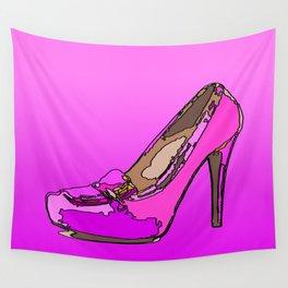 Weekend in pink Wall Tapestry