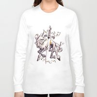 witchcraft Long Sleeve T-shirts featuring Witchcraft by Janet Kim