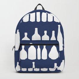Bottles Navy Backpack