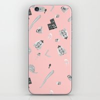 barbie iPhone & iPod Skins featuring Barbie Doll by Wizard No Heart