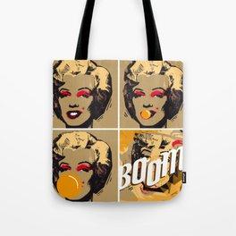The end of Marilyn Tote Bag