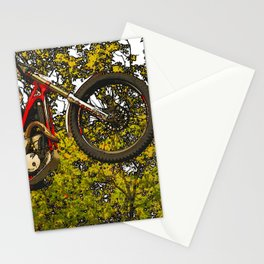 Airtime - Dirt-bike Racer Stationery Cards