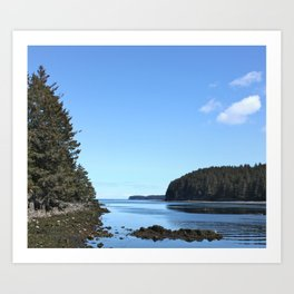 Alaskan Beach Photography Print Art Print