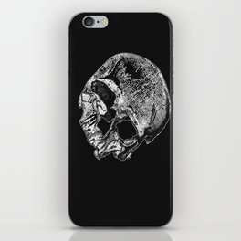 Human Skull Vintage Illustration  iPhone Skin