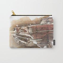 Retro Car Carry-All Pouch
