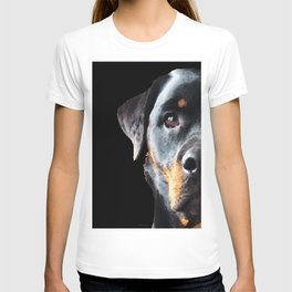 Rottie Love - Rottweiler Art By Sharon Cummings T-shirt