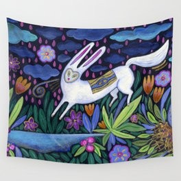 Frolic in the Forest Wall Tapestry