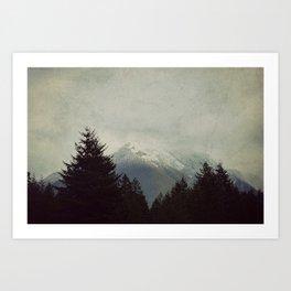 Brave the Storm Art Print