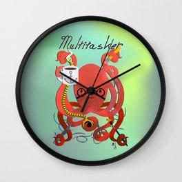 Multitasker Wall Clock